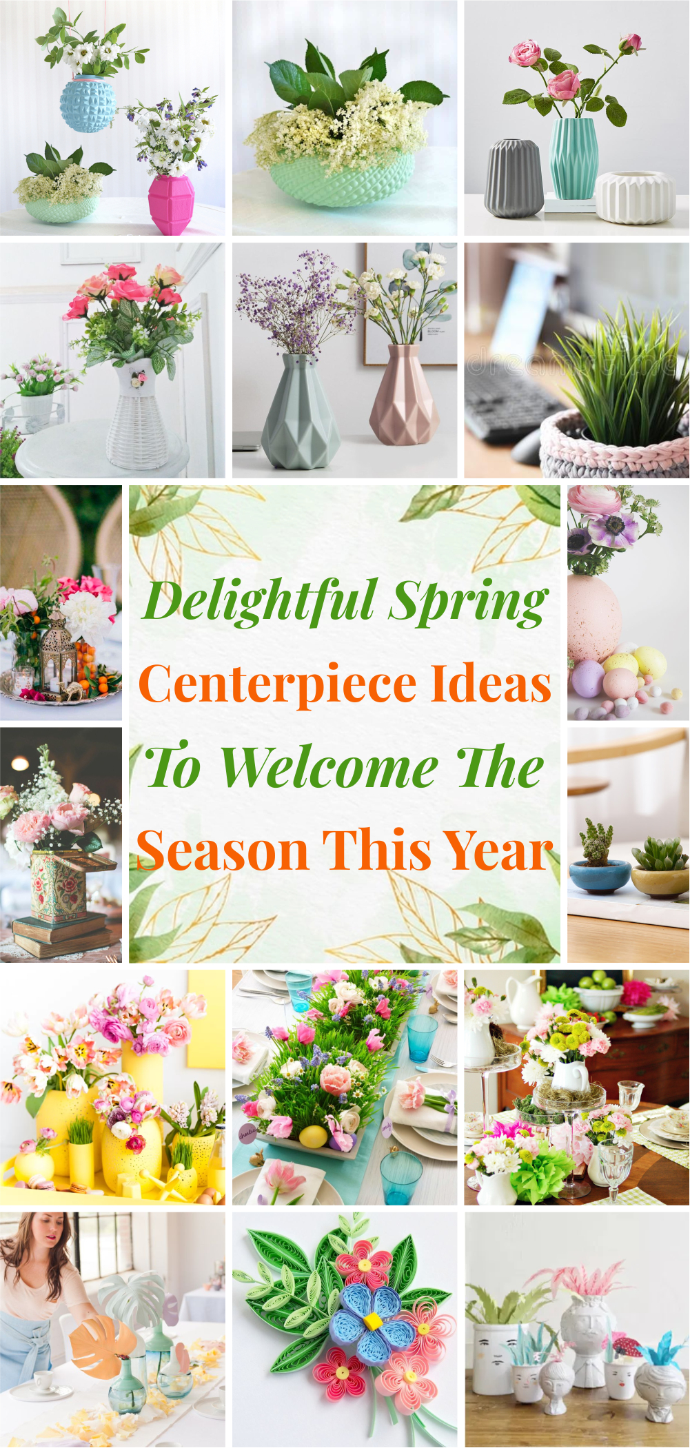Delightful spring centerpiece ideas to welcome the season this year 1
