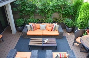 Elegant terrace garden with daunting landscape design to welcome spring 1