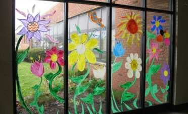 Fire-resistant-classroom-decor-windows