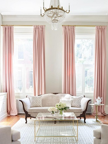 Go for gold Clever Upgrades Window Treatment Ideas For Perfect Spring