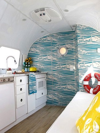 Land yacht Selected RV Decoration Ideas You Want To Copy This Time