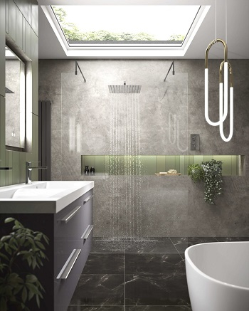 Let the light in Newest Stylish Wet Room Ideas To Get Spa-like Showering Experience