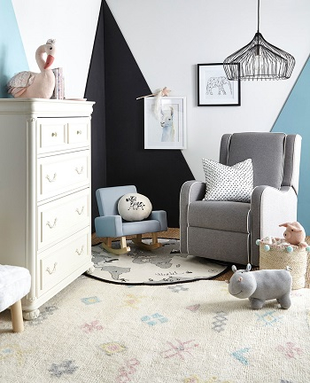 Pretty baby blues Heavenly Pastel-Inspired Room Ideas That So Excited For Spring