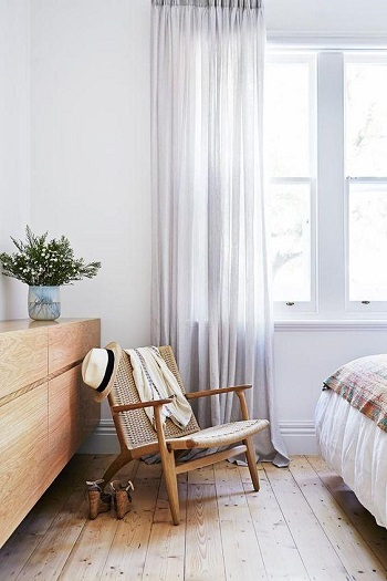 Soft and flowy sheers Clever Upgrades Window Treatment Ideas For Perfect Spring