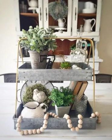 Spring tray decor ideas _ 4