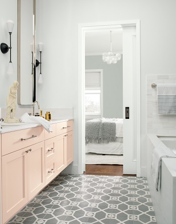Sweet pink vanity Heavenly Pastel-Inspired Room Ideas That So Excited For Spring