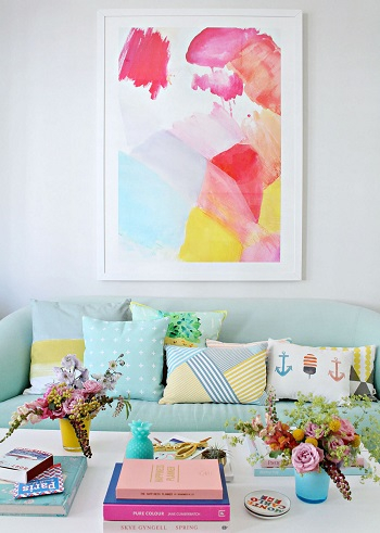 Vivid vignette Serving The Ultimate Staycation With These Tropical Room Design Ideas