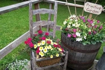 Diy-chair-planter