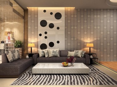 Zebra-rug-spotty-artwork-animal-living-room