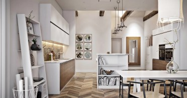 1-scandinavian-kitchen-oscillating-wooden-panelling-leaning-elements