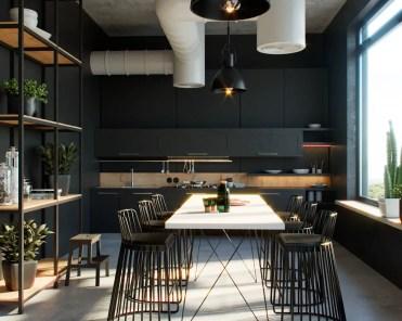 Black-dining-stools