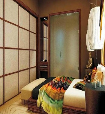 City zen space Earth Tone Japanese Bedroom Ideas To Sooth Your Positive Energy