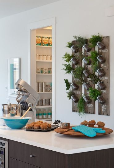 Diy-herb-garden-with-mason-jars-for-the-modern-home