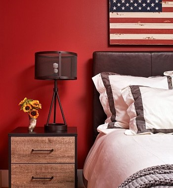Down-to-earth red Undeniably Soothing Earth-Tone Decorating Ideas