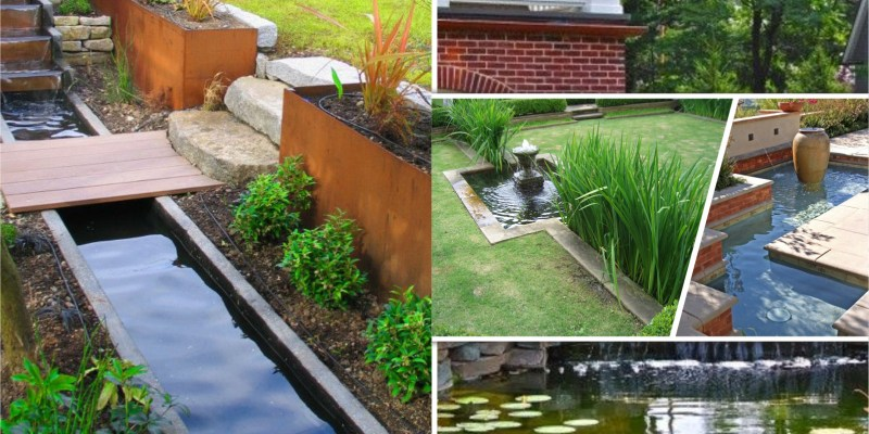 Innovative landscape ideas for water features to create a new look 2