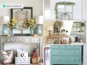 Inspiring ways to decorate entryway in spring that easy and affordable2