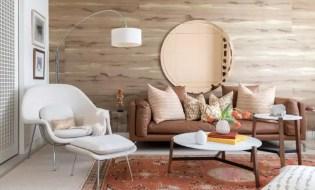 Living room oversized lighting