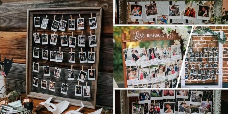Make your own polaroid photo display with these 85 ideas2