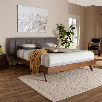 Mid-century modern earth toned city bedroom Earth-Tone Bedroom Edition For Best Nature Feeling