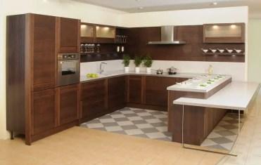 Modern-dark-wood-kitchen