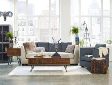 Modern-vintage-living-room