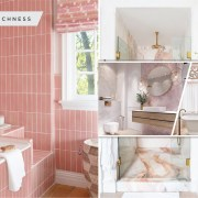 Pretty pink bathroom decor ideas to attain a cozy and sweet atmosphere 2