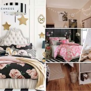 Teenage bedroom ideas with creative decoration 2