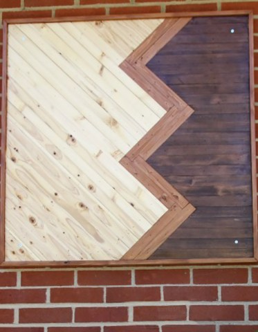 Wood-chevron-wall-art