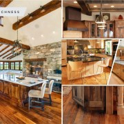 Wood-tones for your kitchen decoration 2