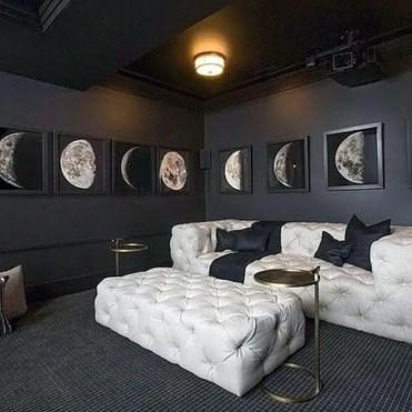 Black-and-white-basement-man-cave-home-theatre-designs