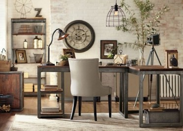 Home-office-design-ideas-cool-desk-ideas-industrial-style-home-office