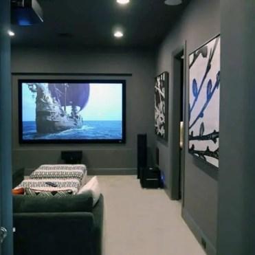 Home-theatre-grey-walls-and-cream-carpet-basement-man-cave