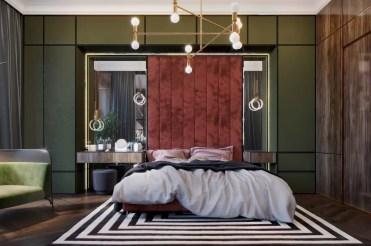 Hunter-green-bedroom