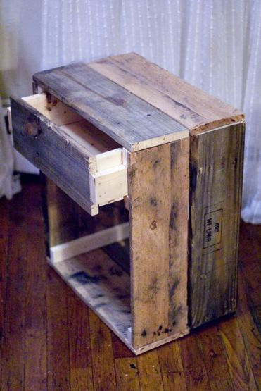 Reclaimed-drawer-night-stand