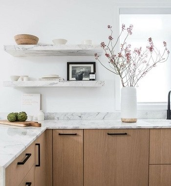 15 Marvelous Ideas For Kitchen Floating Shelve in White Color That You Need To Try Immediately