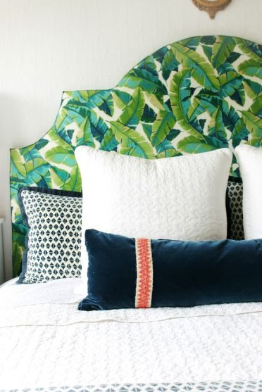10-upholster-your-headboard-with-banana-leaf-print-fabric-to-make-it-bolder-and-more-eye-catchy