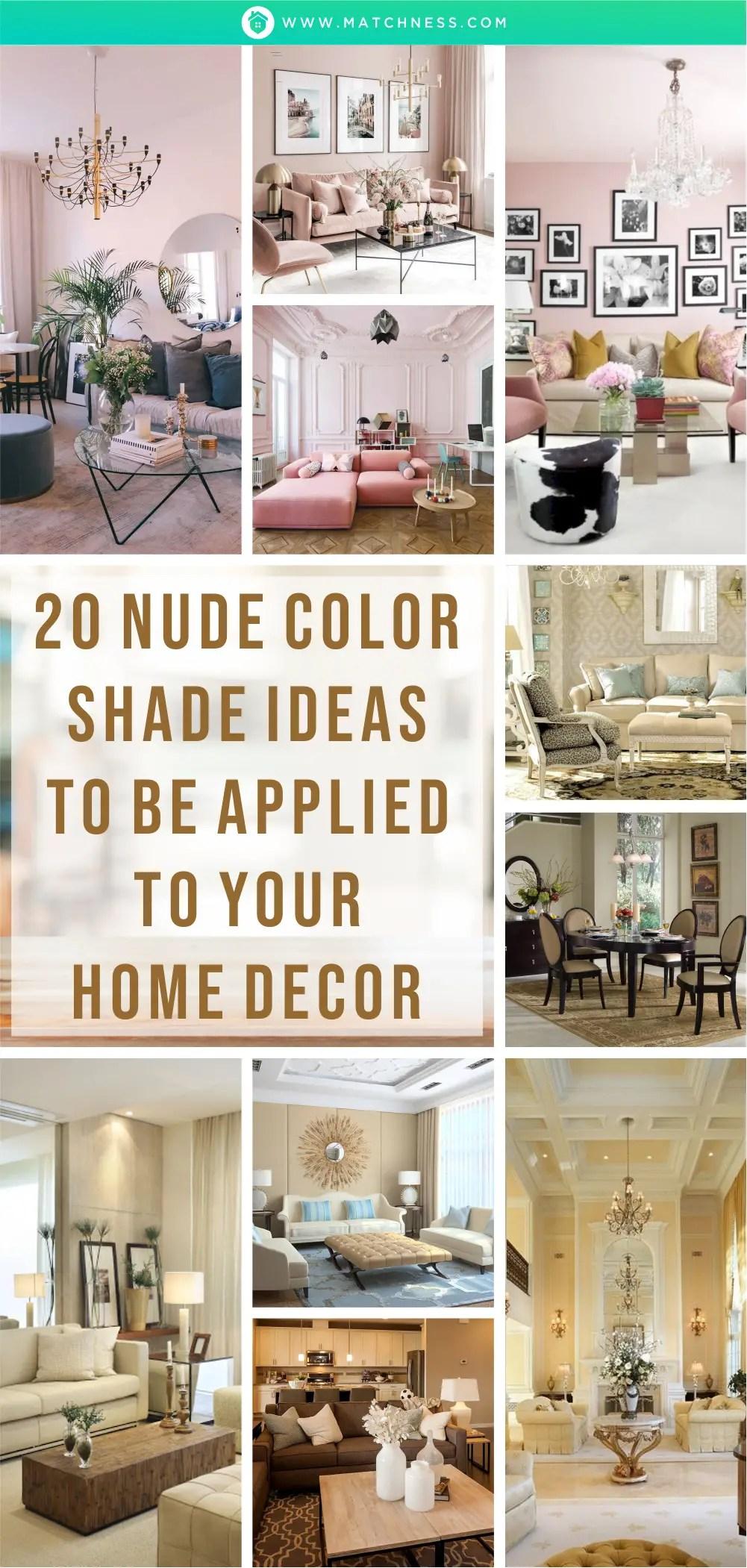 20 idee per tonalità di colore nudo da applicare all'arredamento della tua casa 1