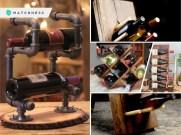 20 unique wine bottle rack ideas fi