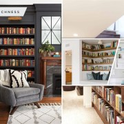 30 built-in shelves ideas for your small home decoration 2