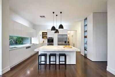 Black lighting fixtures for kitchen