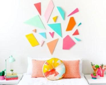 Colorful-geometric-headboard