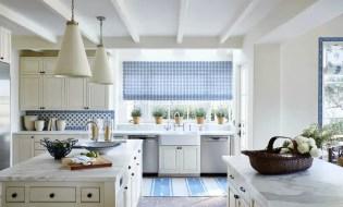 Creamy white kitchen