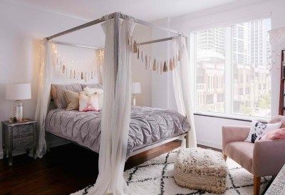 Princess-inspired bedroom