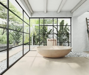 Vast bathroom design with naturally inspired adventure for a serenity atmosphere 3
