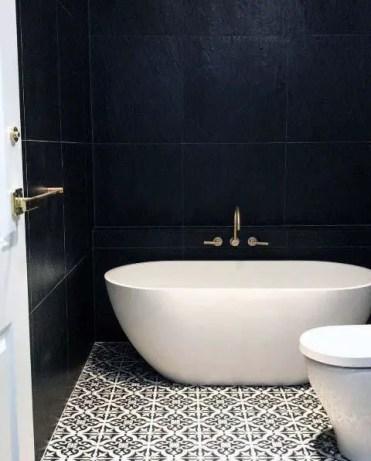 Designs-for-bathrooms-black-color