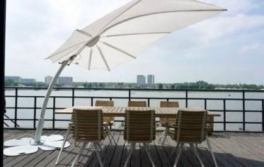 Sun-protection-modern-cantilever-outdoor-umbrella-dining-furniture-set