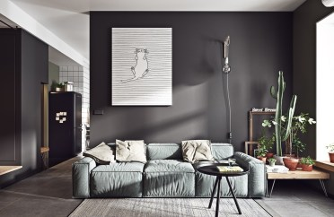 1-cat-painting-cacti-gray-living-room-furniture-1