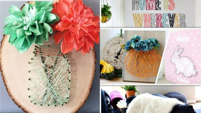 25 string art projects to beautify your home decoration2