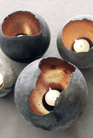 33-concrete-spheres-with-metallics-inside-as-candle-holders