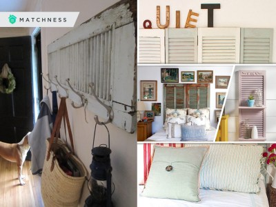 45 interesting shutter repurposing projects 2